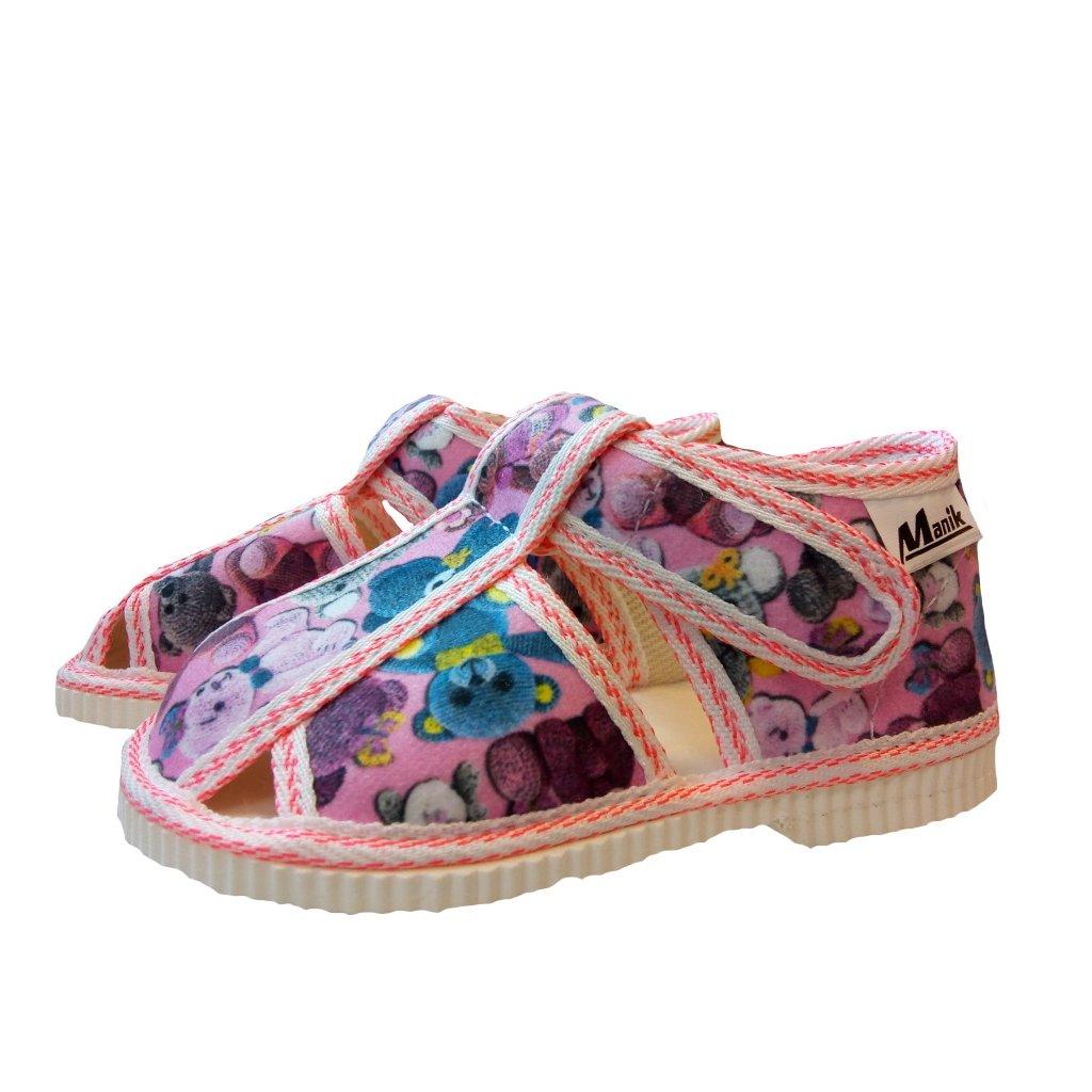 Manik detské papučky 306/1S