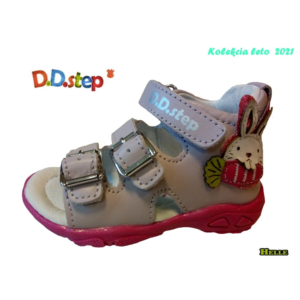 D.D.Step 021-AC290-508 detská letná obuv