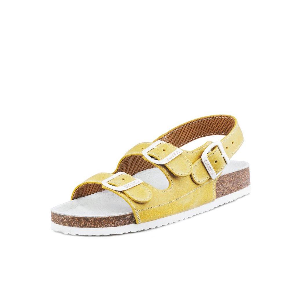 Santé N140 školské sandále červená