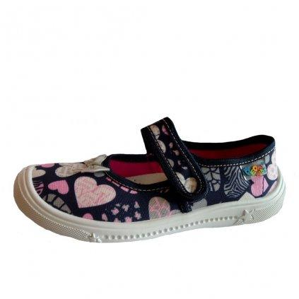 Peon KIDS MI/001 DS domáca obuv
