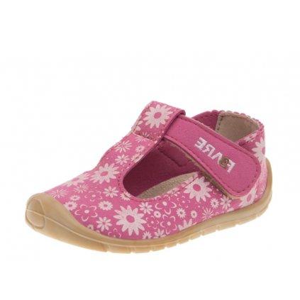 RAK papučky ružový pásik
