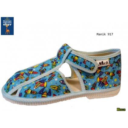 Manik detské papučky (096)