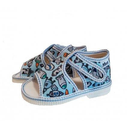Manik detské papučky (095) grafic