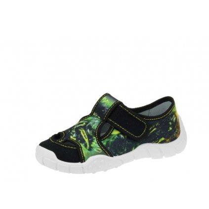 Befado 065P/X160 detská plátená obuv