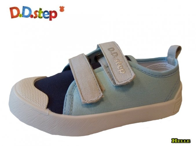 D.D.Step 121-CSB-147 detské plátenky sky blue