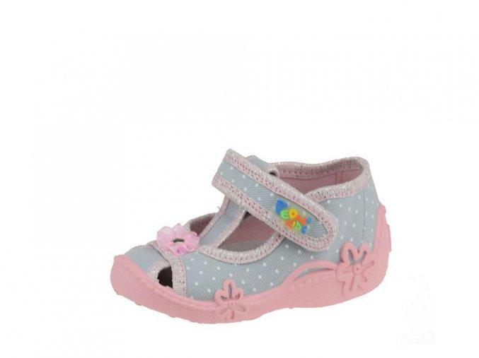 Peon PE/301 biela kvety