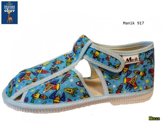 Manik detské papučky 096/3S