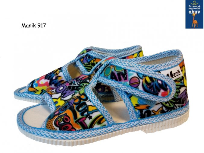 Manik detské papučky 914/1S