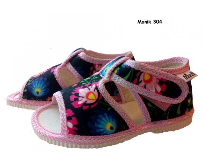 Manik detské papučky 304a/1S