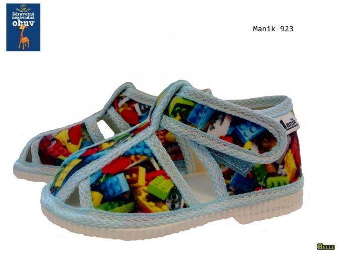 Manik detské papučky 302/3S