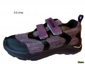 D.D.Step detské botasky F61-781 lavender