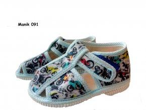 Manik detské papučky 912/2S
