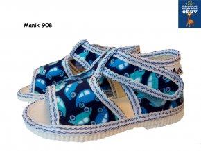 Manik detské papučky 037/1S macko