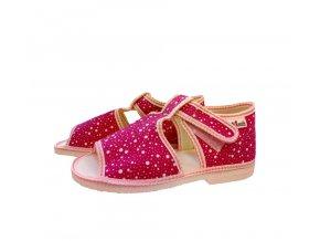 Manik detské papučky 95 modré