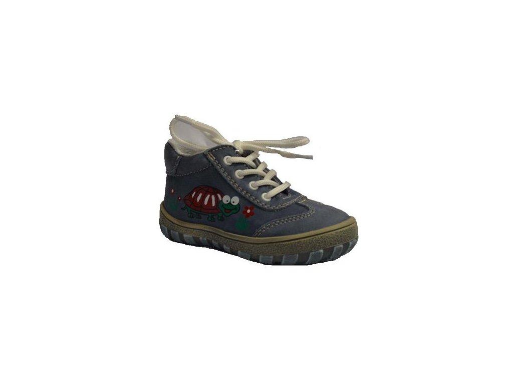 943549787f Jonap 011 M želva dětská kožená obuv - Obuv Luna - Miluše Liznová