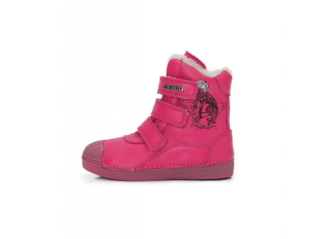 D.D. step dívčí zimní obuv 043-508CM - Obuv Luna - Miluše Liznová abe4d5e367