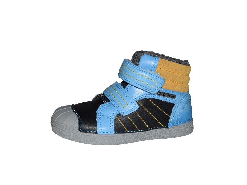 D.D. step chlapecká zimní obuv 043-504BL - Obuv Luna - Miluše Liznová 140a1ddb52