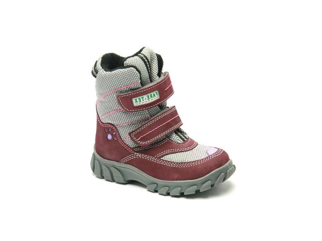 73fd34ea72 Fare 848291 dětská kožená obuv - Obuv Luna - Miluše Liznová
