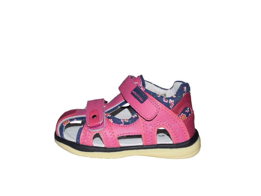 9686d554d0 Protetika dívčí sandály MARTINA fuxia - Obuv Luna - Miluše Liznová