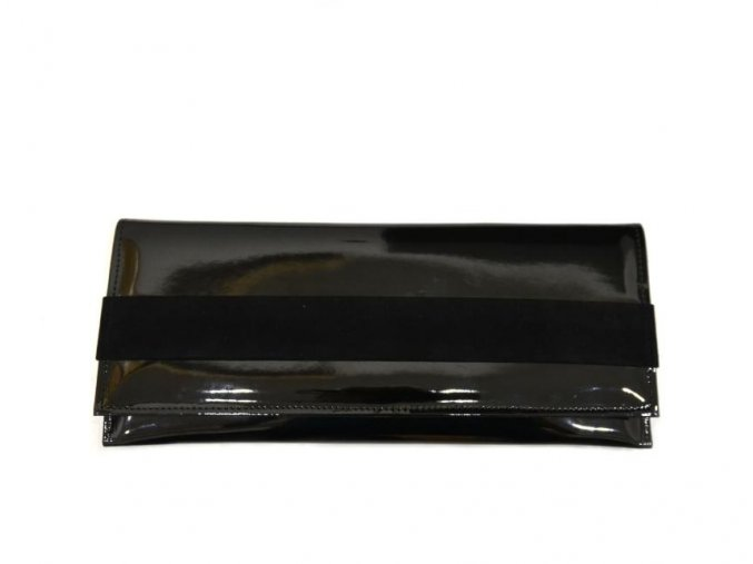 Dámské psaníčko MDM v černé barvě