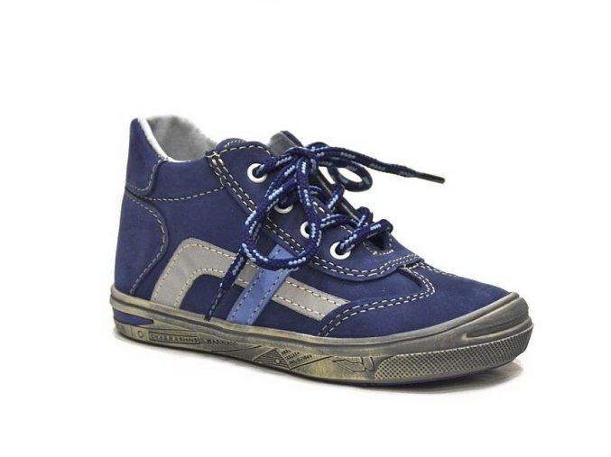 Jonap dětská obuv 032/N v modré barvě