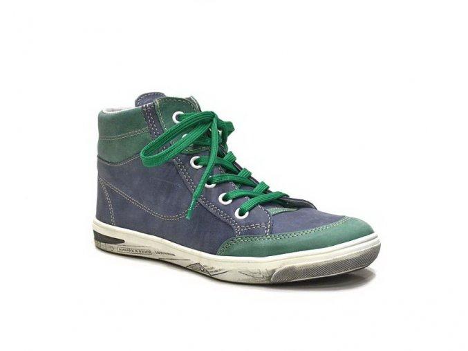 Jonap chlapecká obuv  028/M v modré barvě