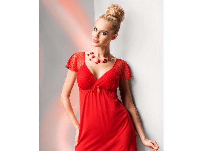 Donna noční košilka Tamara červená