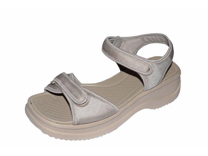 Azaleia dámské sandály 321/béžová pearl