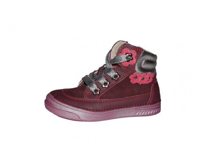 D.D. step dívčí zimní obuv 040-15EM