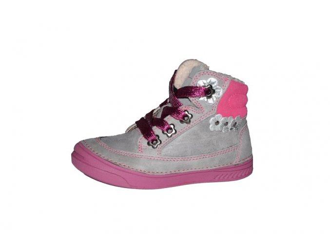 D.D. step dívčí zimní obuv 040-15DL