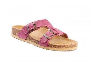 Barea ortopedické pantofle  v růžové barvě