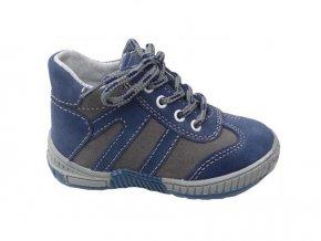 Jonap 014/N dětská kožená obuv