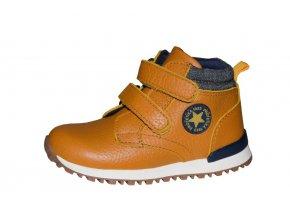 Protetika chlapecká obuv HELGEN brown