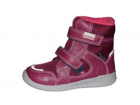 Protetika dívčí zimní obuv DENERIS fuxia