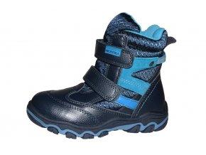 Protetika chlapecká zimní obuv POLAR navy