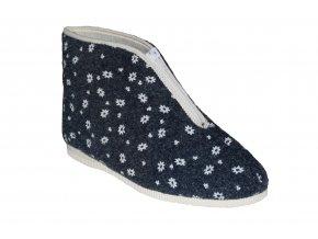 Pegres dámské papuče 1034/modrá