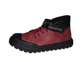 D.D. step Stitch & Walk dívčí zimní obuv 052-632C