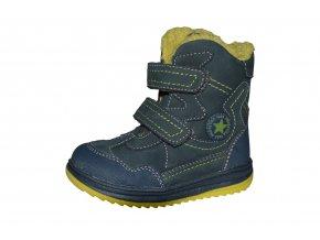 PROTETIKA chlapecká zimní obuv RIKI denim