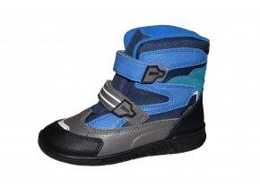 PROTETIKA chlapecká zimní obuv MARON blue