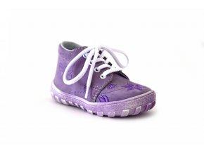 Jonap dětská obuv 022/N s kytičkami