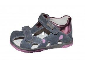 Protetika dívčí sandály KATY grey