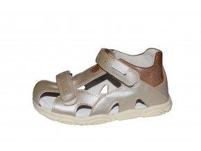 Protetika dívčí sandály KATY gold
