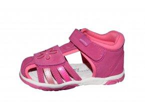 Protetika dívčí sandály SANDRA fuxia
