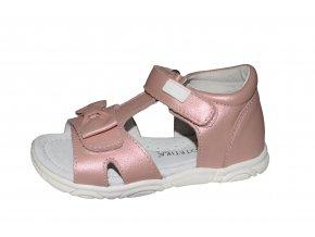 Protetika dívčí sandály TESA pink