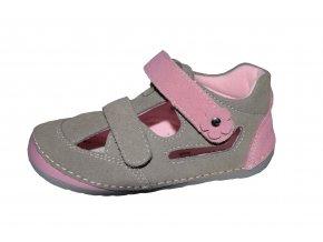 Protetika dívčí sandály FLIP taupe