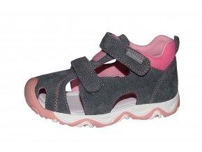 Protetika dívčí sandály SPARKY pink