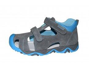 Protetika chlapecké sandály SPARKY grey
