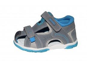 Protetika chlapecké sandály RIVAS grey