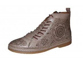 Manitu dámská kotníková obuv 990039-08
