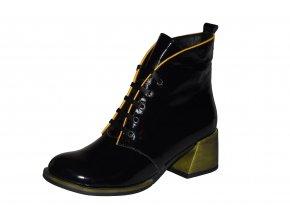 LA PINTA dámská kotníková obuv 0010-123R-SILVE
